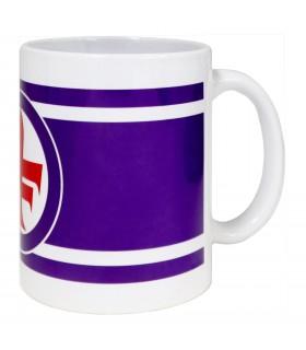 Tazza Mug in Ceramica A.C. Fiorentina confezionata in scatola da regalo