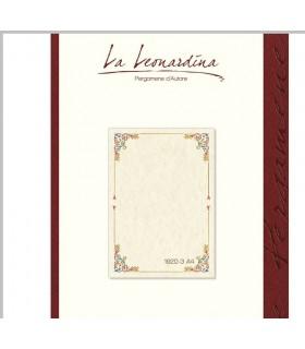 Carta Pergamena L'Aristocratica 160 gr. Formato A4 colore avorio conf.12 fogli