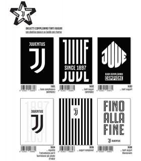 Biglietto Marpimar Compleanno F.C. Juventus conf. 12 pz. assortiti