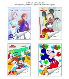 4 Libri da Colorare Marpimar da 16 Pagine ass. (Mickey e Frozen 2) come da foto
