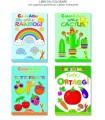 4 Libri da Colorare Marpimar da 16 Pagine assortiti come da foto