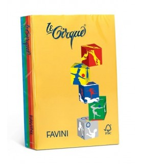 Risma 80gr Favini mix 5 colori assortiti da 500 fogli