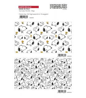 Carta Regalo Marpimar Snoopy conf. 100 fogli assortiti mod.21APE13