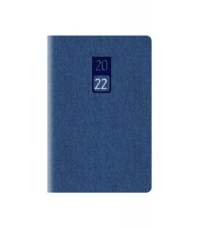 Agenda Bigiornaliera mis.6.5x10 Mod. Jeans Disponibile in 4 colori