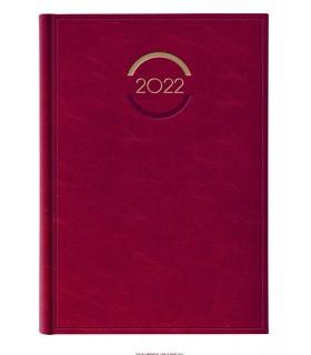 Agenda Settimanale 2022  mis.21x29.7 Mod.Madrid Colore Rosso