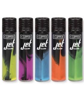 Accendino Clipper  Turbo Jet Dark nebula conf. 48 pz. assortito con 4 grafiche