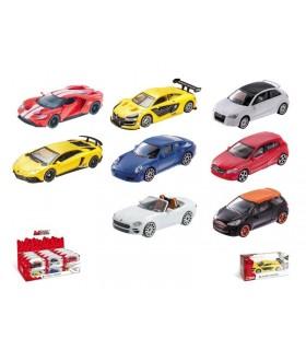 Modellini Auto Fast Road Mondo Motors scala 1:43 Expo da 24 pz. modelli assortiti