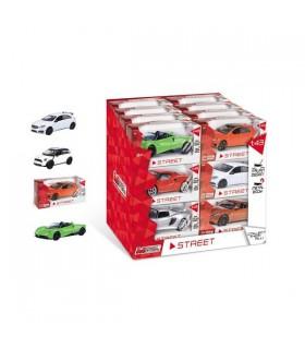 Modellini Auto Streer Collection Mondo Motors Scala 1:43 Expo da 24 pz. modelli assortiti