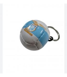 Portachiavi in PVC a Forma di Pallone S.S. Lazio