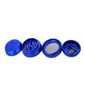 Grinder Champ in Metallo 4 Parti Diametro 40 mm colore Blu
