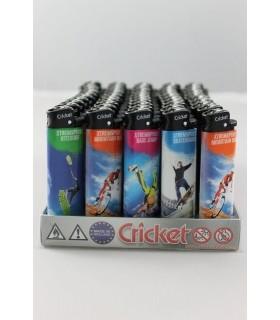 accendini cricket XTREMSPORT  Conf. da 50 pz.