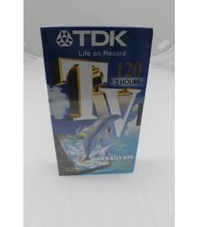 Videocassetta TDK  120 min.