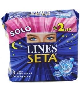 Lines Seta Ultra Notte con Ali