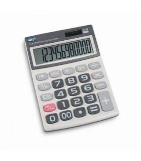 Calcolatrice Elettronica in ABS con doppia Alimentazione