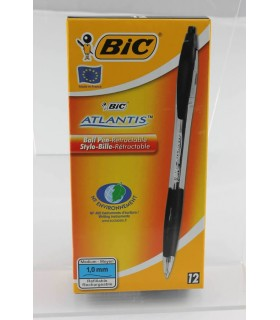 Penna Bic Atlantis 1 mm colore nero