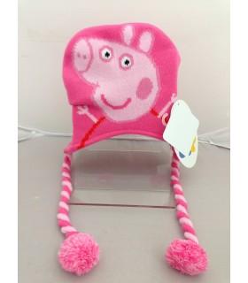 Cappellino Lana Peppa Pig