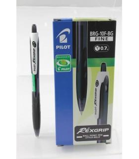 Penna Pilot Rexgrip 0.7mm colore nero