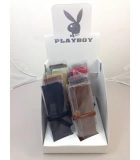 Expo 10 Porta Tabacco Playboy in Vera Pelle colori assortiti