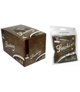 Filtri Smoking Slim 6mm Brown conf.  10 buste da 120 filtri