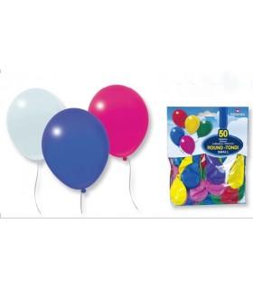 Blister Palloncini Piccoli da 50 pz. colori assortiti