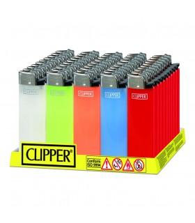 Accendino Clipper Maxi conf. 50 pz. assortiti in 5 colori