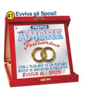 """Targa """"Amore"""""""