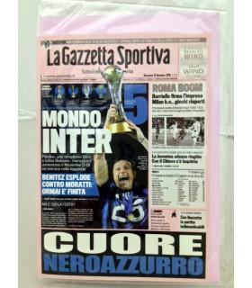 Biglietti Buon Compleanno Gazzetta Dello Sport Inter conf. 12 pz. monosoggetto