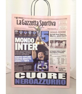 Buste Regalo Carta Gazzetta dello Sport Inter conf. 12 pz.