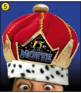 Cappello Reale Re della Notte
